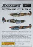 X48093  1/48 Supermarine Spitfire Mk.Vb decals (11)